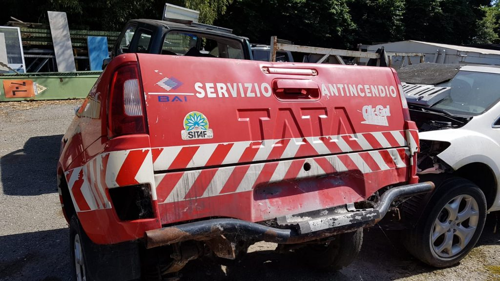 CASSONE E SPONDA PER TATA PICK UP 2 PORTE